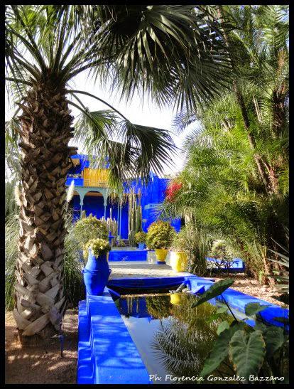 Jardín Majorelle, Marrakech, Marruecos