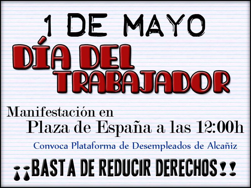 1 mayo dia trabajador:
