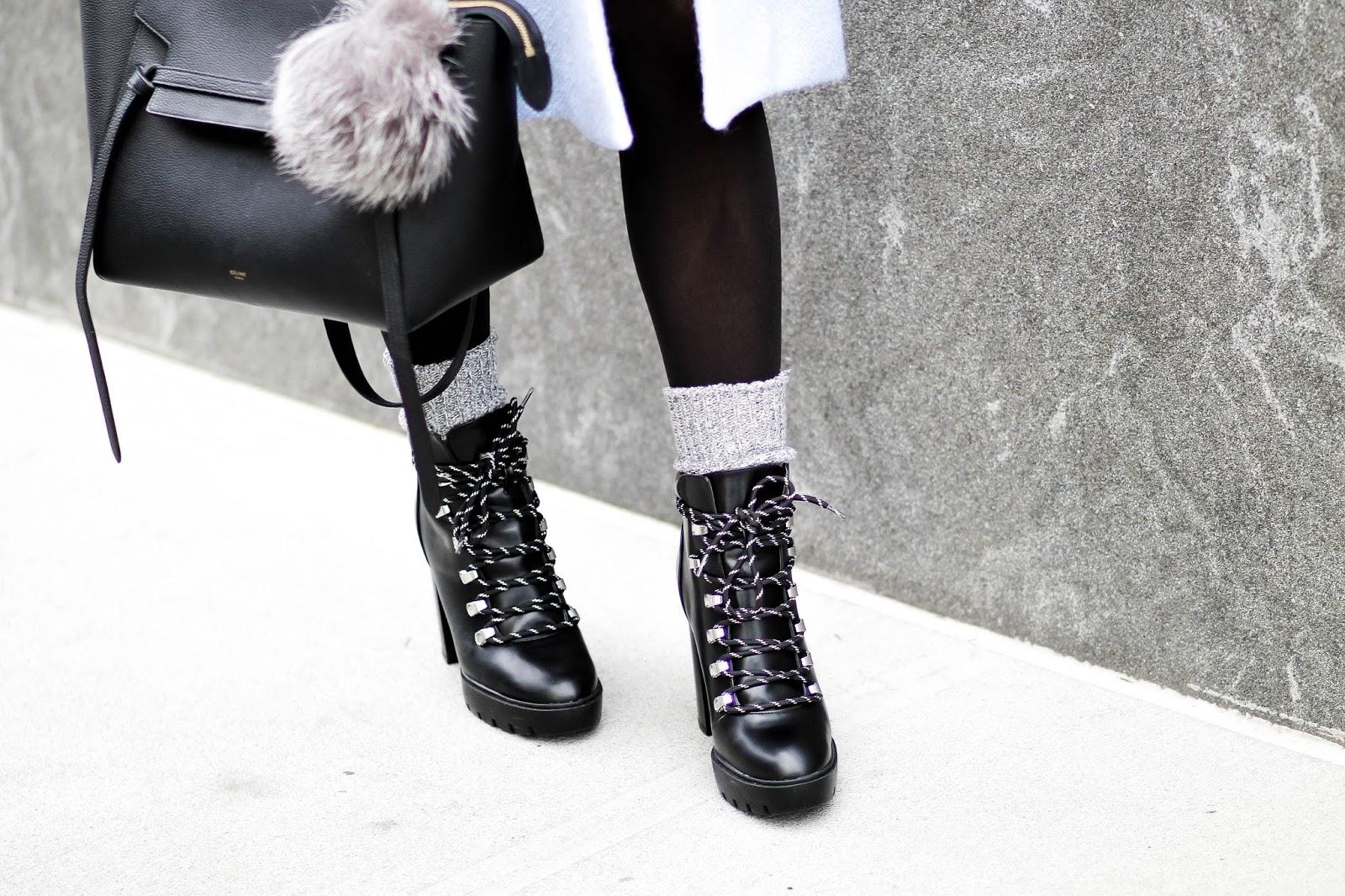 heeled hiker boots