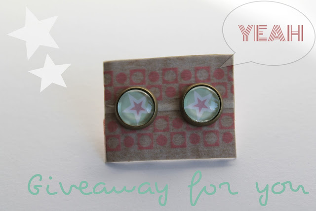 Giveaway Star-Earrings