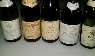 Savigny, Nuits, Vosne, Echezeaux. Good line up!