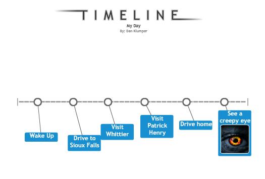 spear tip education quick timeline maker