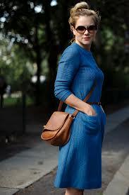 Vestidos de Colores Básicos, Azul