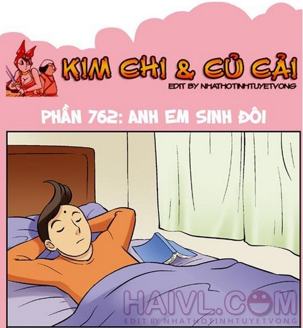 Xem trọn bộ Kim Chi và Củ Cải Full - update mới nhất.Góc thư giãn 18+ - Kim chi và củ cải phần 762: Anh em sinh đôi