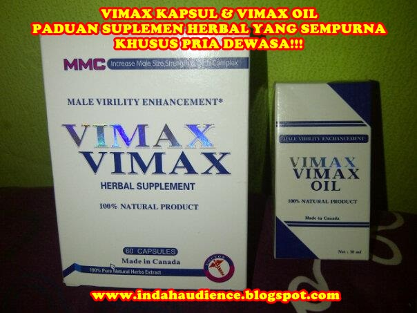 vimax kapsul dan vimax oil original made in canada suplemen