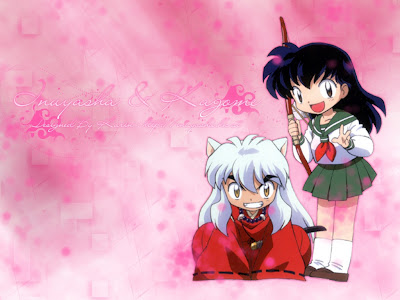 inuyasha kagome wallpaper