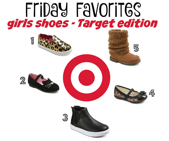 While I'm Waiting...Friday Favorites - girls shoes - Target edition