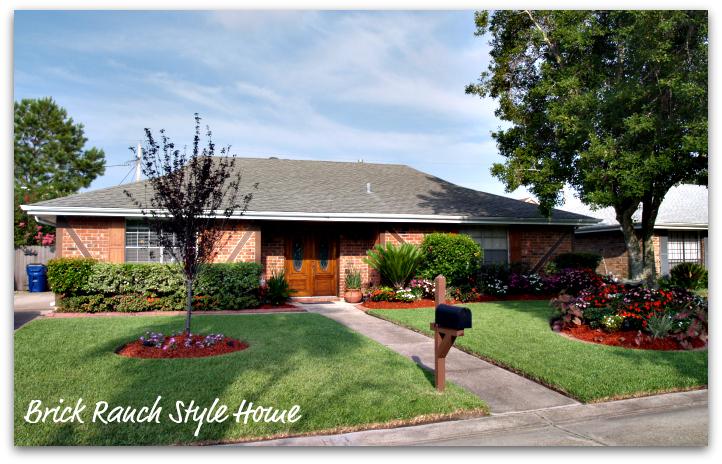 Sabrinapatina september 2011 for Ranch style brick homes