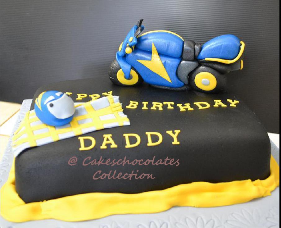 Birthday Cake Big Bike Cakeschocolates Collection