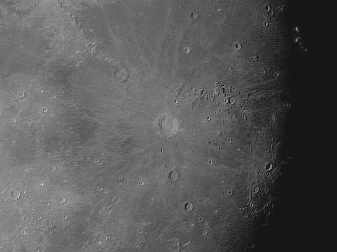 Fotos de la Lluna. Des de Sant Feliu de Guíxols - 11 de juliol de 2011