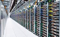 Μια ματιά στους server της Google