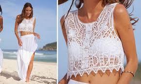 cropped branco para usar na praia