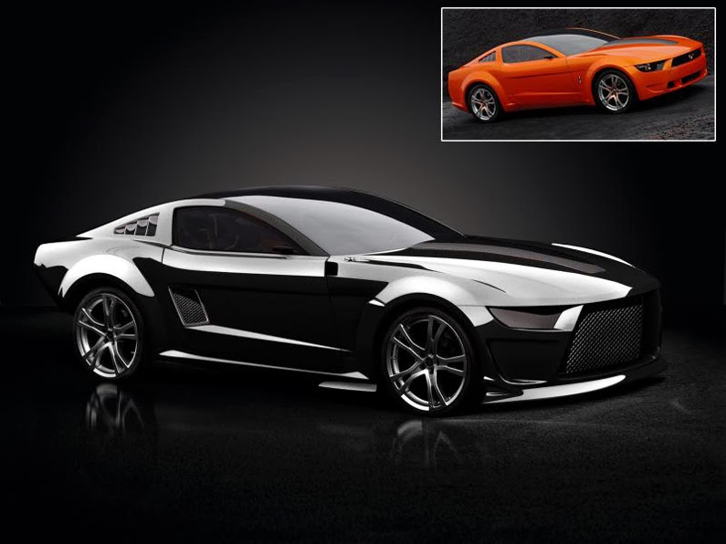 2014 Mustang Redesign Mustang Redesign,2014 Ford