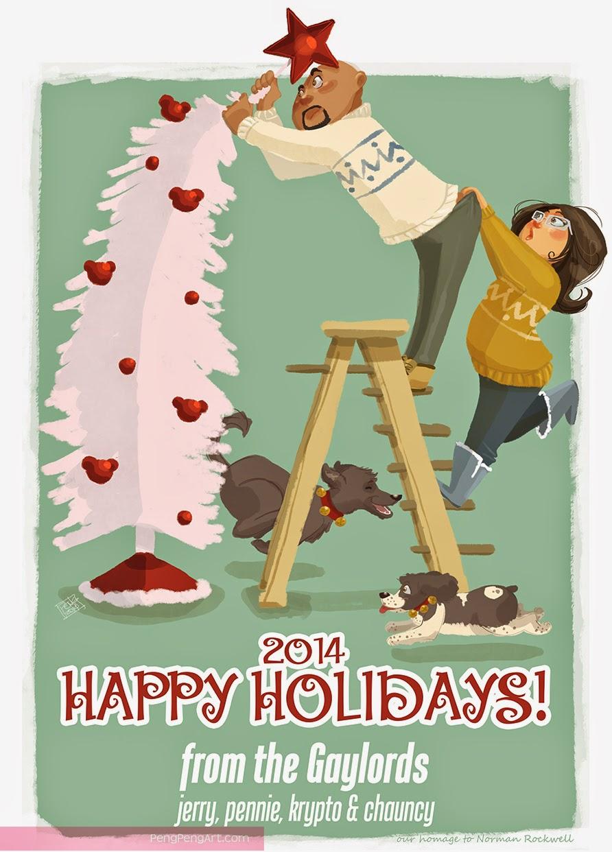 Peng-Peng Art: merry christmas