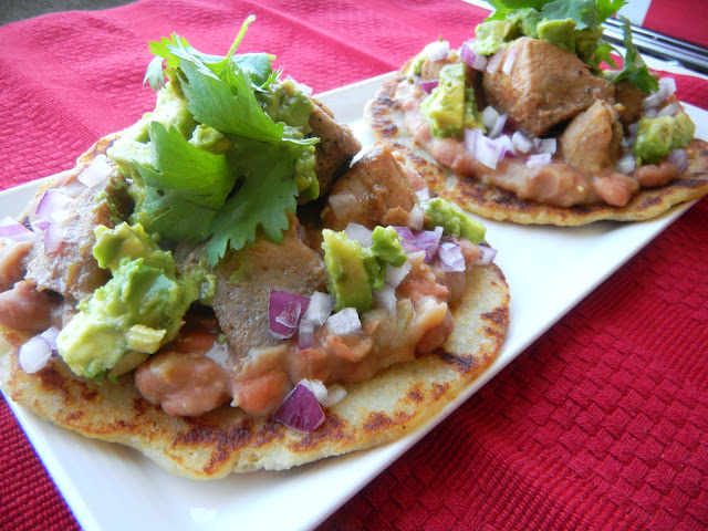 pork carnitas gorditas