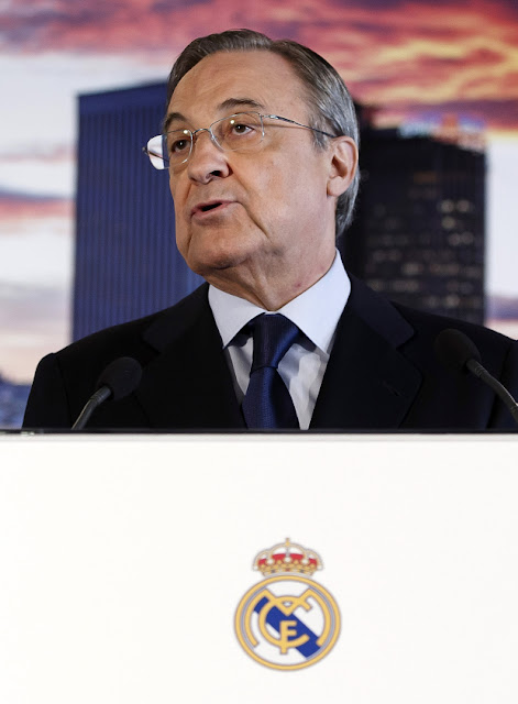 Florentino Perez is being urged to quit (Picture: Getty)
