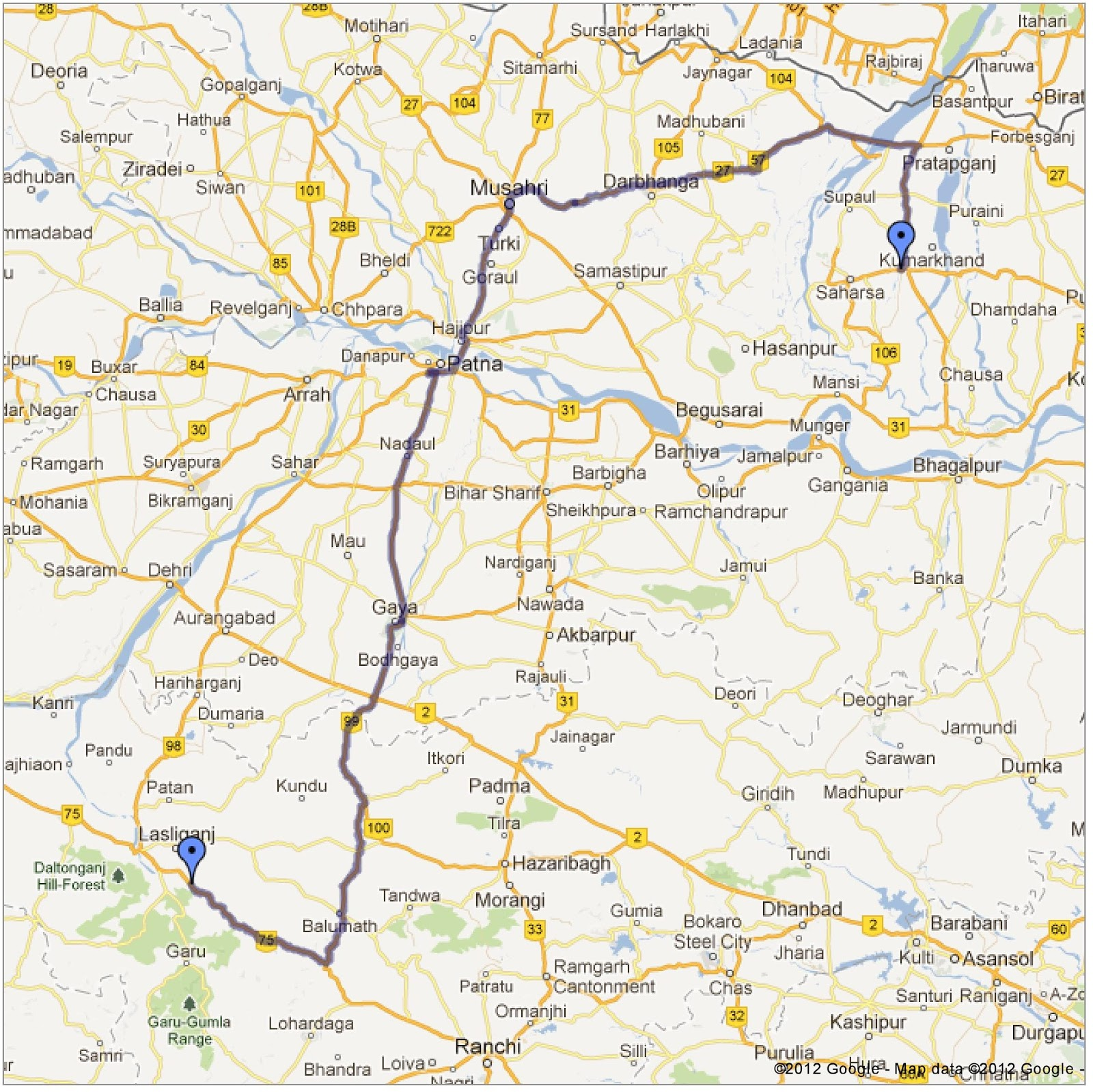 Driving Map Of United States Allotherplacesorg Map Of The Us - What is the us google map version=