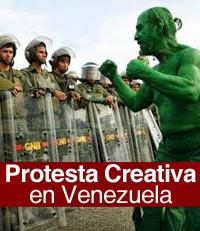 Protesta Creativa en Vzla