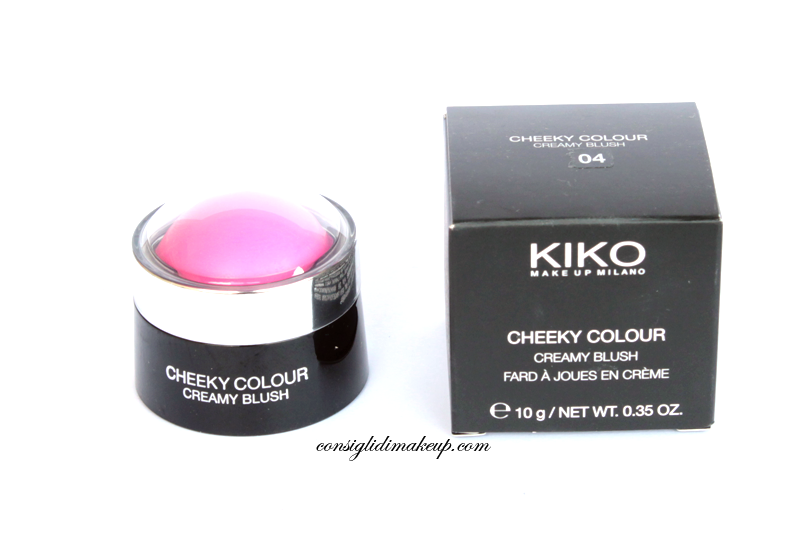 Review: Cheeky Colour Creamy Blush 04 - Kiko Cosmetics