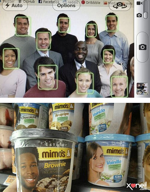 Tirinha Gordo Fresco: Só não vê quem não quer! Fotos com racismo velado!