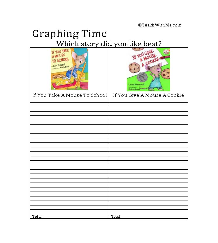 Printables If You Take A Mouse To School Worksheets classroom freebies if you take a mouse to school activities activities