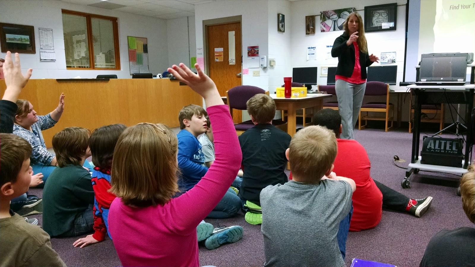 La Farge, Wisconsin, school visit