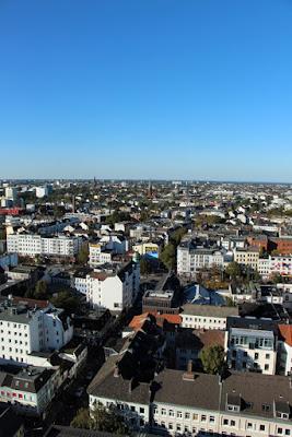 Empire Riverside Blick auf Hamburg