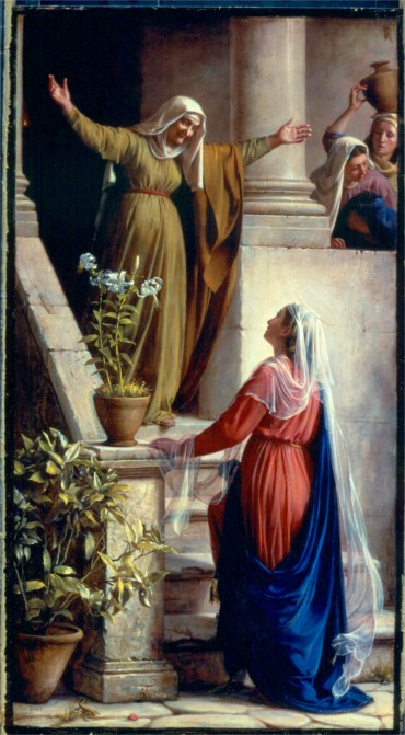ELIZABETH GREETS MARY