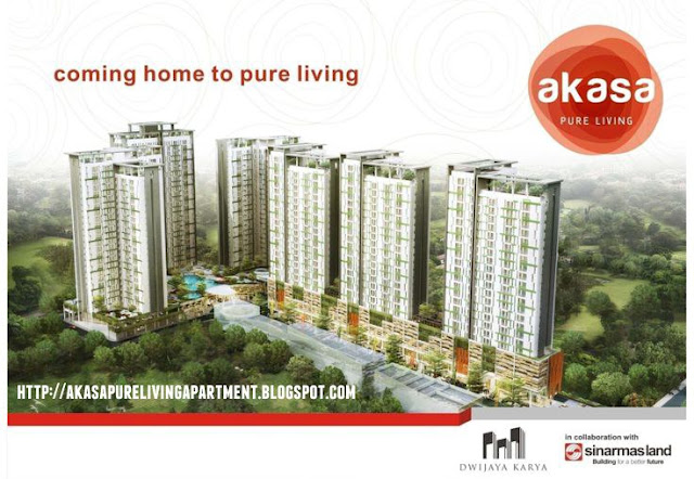 Akasa Pure Living Apartment BSD