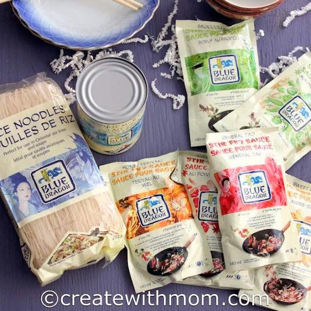 blue dragon noodles