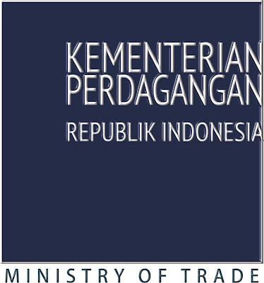 Vector Logo atau lambang Kementerian Perdagangan Baru
