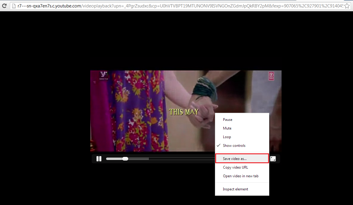 Put The File Name In With €�4″ Extension (for Example: Video4) And  Click On Save Then Video Downloading Will Be Started