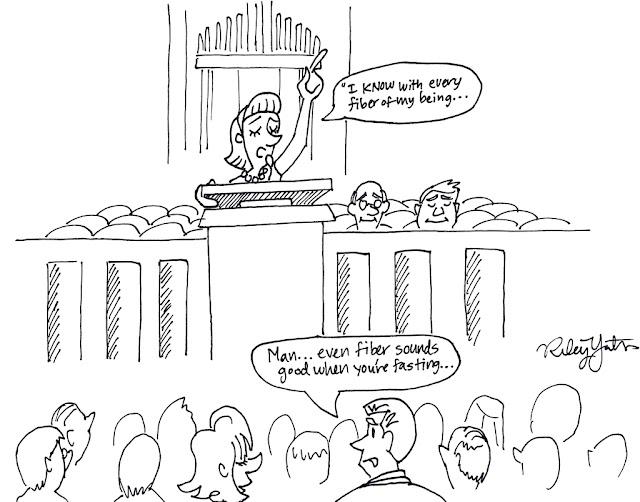 Mormons, fasting, cartoon