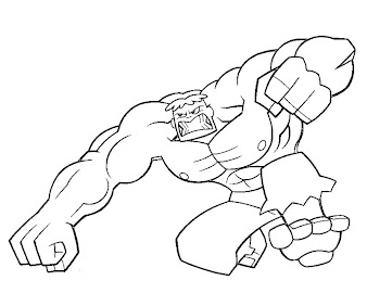 #7 Justice Friends Coloring Page