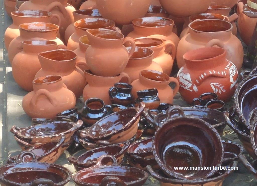 Mercadito de Alfarería en Pátzcuaro