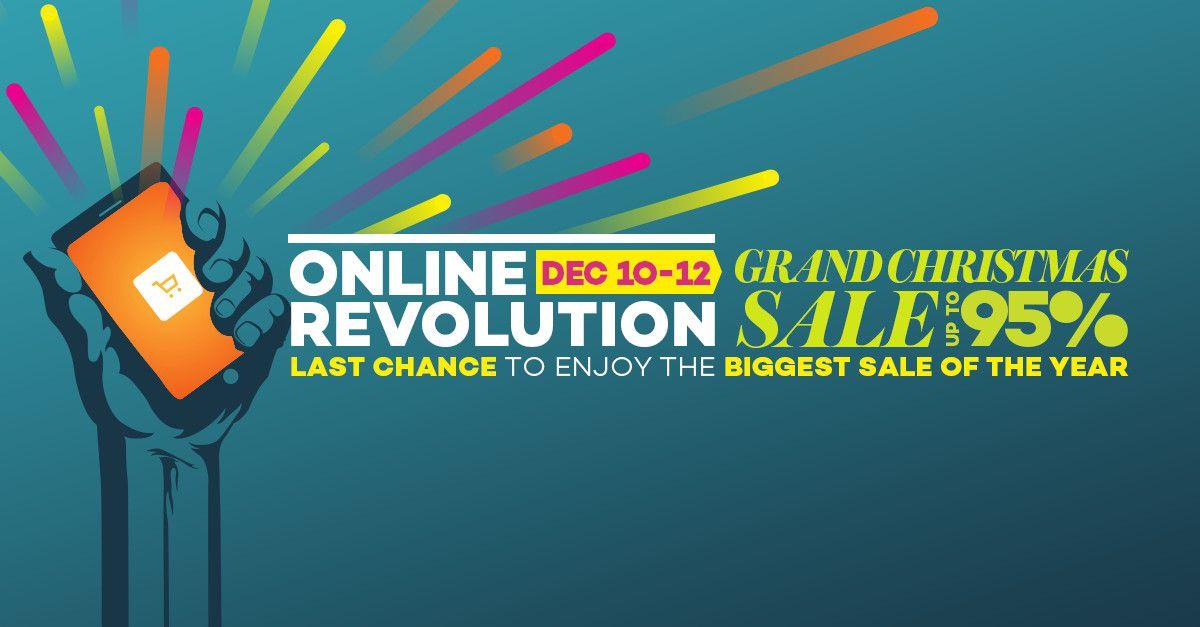 Lazada's Online Revolution Campaign