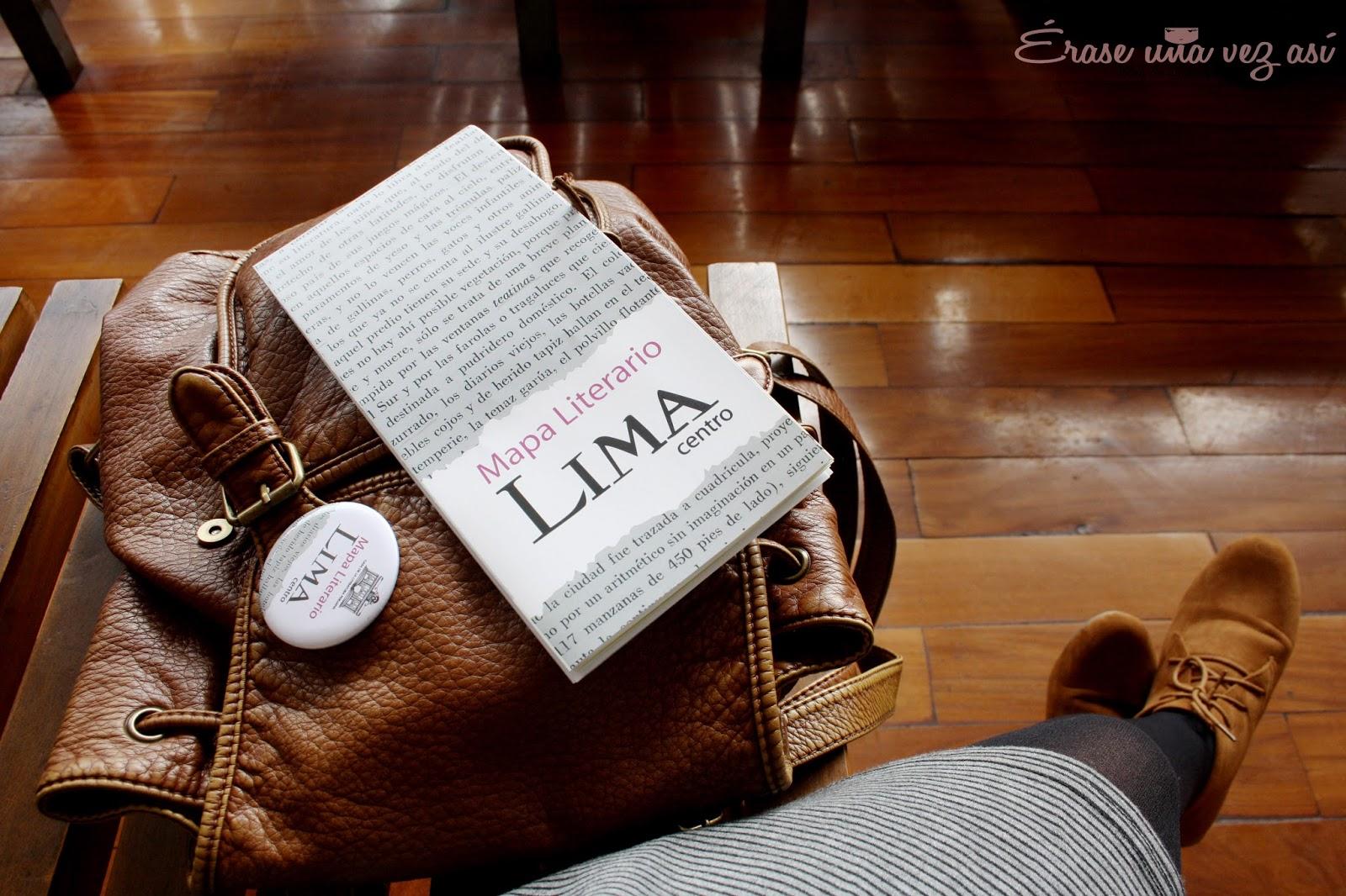 mapa literario de lima, visita al mapa literario de lima, talleres de la casa de la literatura de lima, bar el parlermo, en lima cada uno es poeta, julia zavala, erase una vez asi,