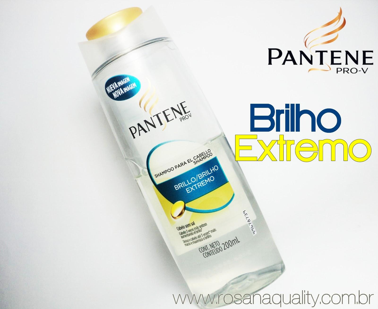 Shampoo Brilho Extremo Pantene