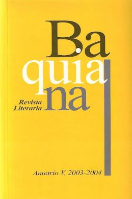 REVISTA BAQUIANA