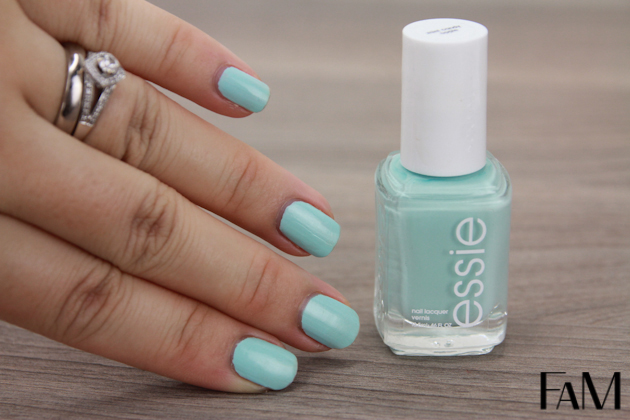 Essie Mint Candy Apple - Mint nail polish Swatches