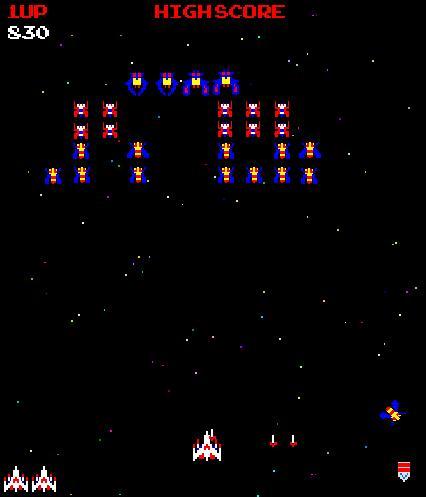 galaga space game play galaga uzay oyunu oyna