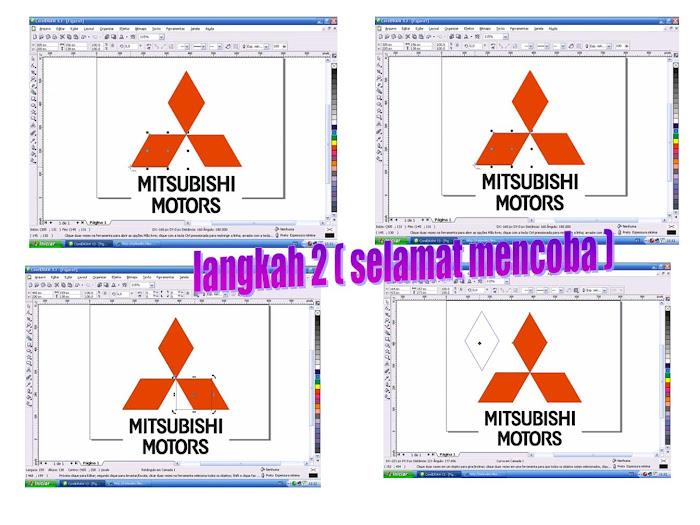 LANGKAH 2 (Logo Mitsubishi)