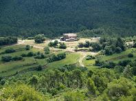 Panorama des del Serrat de la Cua de la Guilla