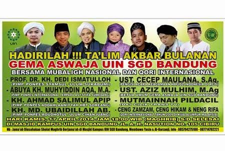 Ta'Lim Akbar Bulanan Gema Aswaja