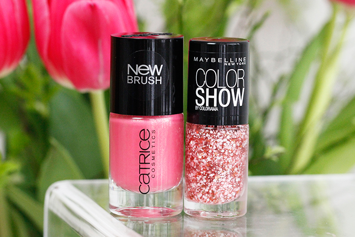 Maybelline 430 Bouquet & Catrice 83 All I Need Is Pink