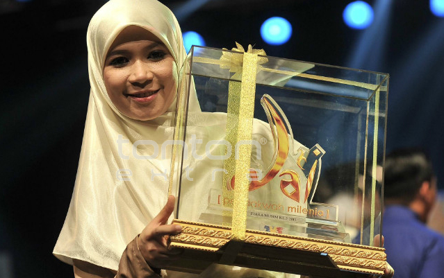 Juara Da'i Pendakwah Melinea Musim Ke-3 Da'i Hamidah