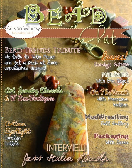 http://glossi.com/artisanwhimsy/52914-november-2013-bead-chat-magazine-by-artisan-whimsy
