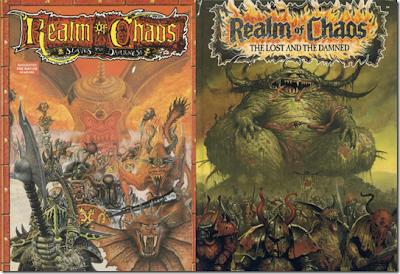 Realm of Chaos de la tercera edición de Warhammer Fantasy Battle