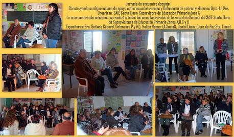 Jornada de trabajo de SAIE Dpto. La Paz con supervisores y docentes