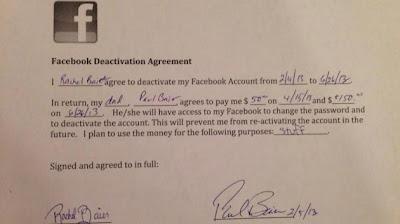 Bayar RM600 supaya henti guna Facebook